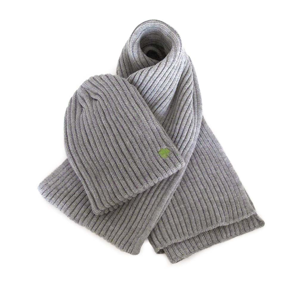Ribknit Hat & Scarf Set